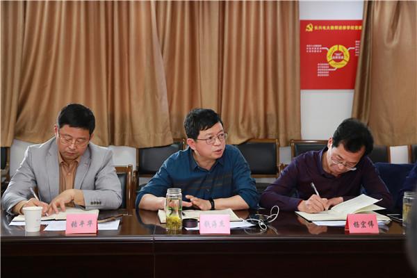 湖州市长兴县第三届特级教师后备人选培训班工作例会召开